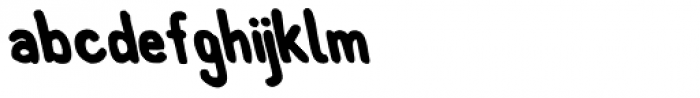Left Hand Path Bold Backslant Font LOWERCASE