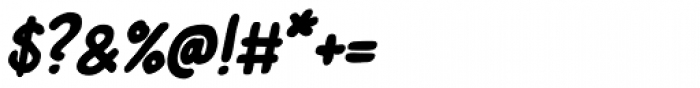 Left Hand Path Bold slant Font OTHER CHARS