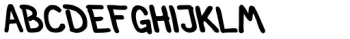 Left Hand Path Medium backslant Font UPPERCASE