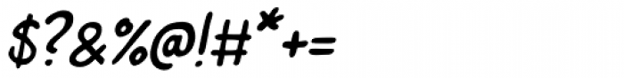 Left Hand Path slant Font OTHER CHARS