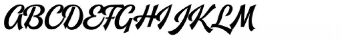 Leftfield Brush Regular Font UPPERCASE
