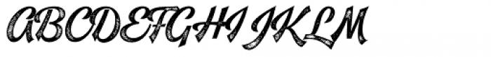 Leftfield Brush Rough Font UPPERCASE