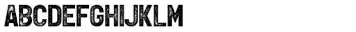 Leftfield Sans Rough Bold Font UPPERCASE