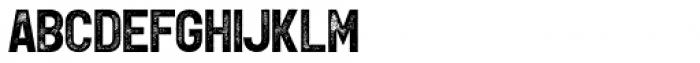 Leftfield Sans Rough Bold Font LOWERCASE