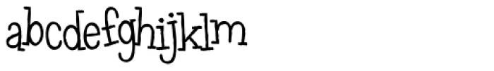 Leftovers (Personal Use) Font LOWERCASE
