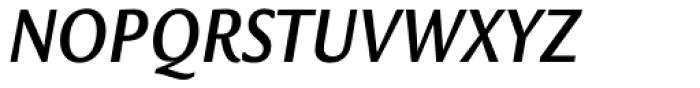 Legacy Sans Condensed Bold Italic Font UPPERCASE