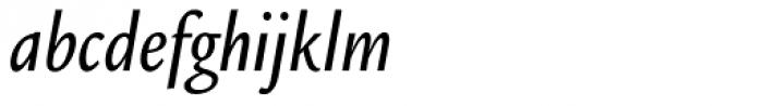 Legacy Sans Condensed Medium Italic Font LOWERCASE
