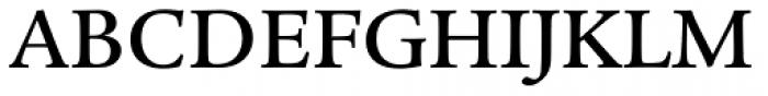 Legacy Serif Medium Font UPPERCASE