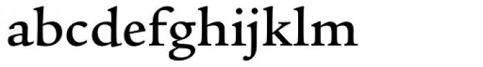 Legacy Serif Medium Font LOWERCASE