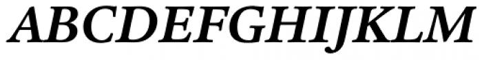 Legacy Serif Std Bold Italic Font UPPERCASE