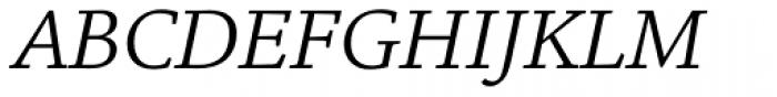 Legacy Square Serif Std Book Italic Font UPPERCASE