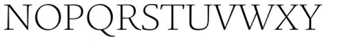 Legacy Square Serif Std ExtraLight Font UPPERCASE