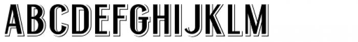 Legal Eagle JNL Font UPPERCASE