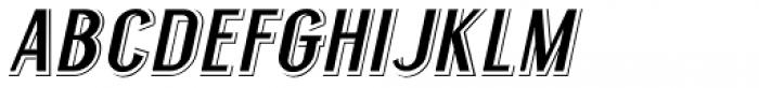 Legal Eagle Oblique JNL Font LOWERCASE