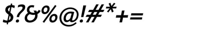 Legal Medium Italic Font OTHER CHARS