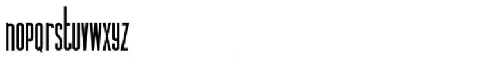 Legal Obligation Sans Serif Bold Font LOWERCASE