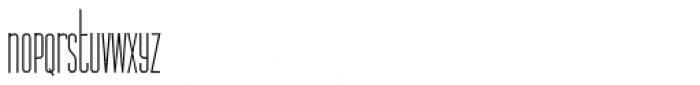 Legal Obligation Sans Serif Light Font LOWERCASE