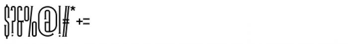 Legal Obligation Serif Regular Font OTHER CHARS