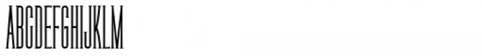 Legal Obligation Serif Regular Font UPPERCASE