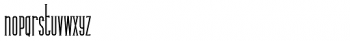 Legal Obligation Serif Regular Font LOWERCASE