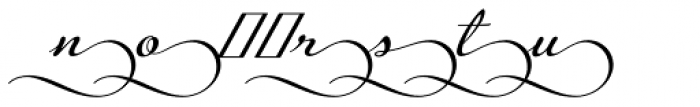 Legendaria Ends 4 Font LOWERCASE