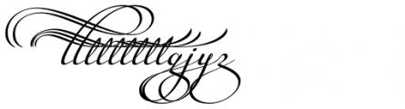 Legendaria Swashes 2 Font UPPERCASE