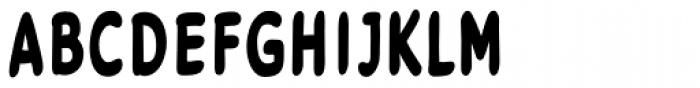 Legendary Legerdemain Leggy Bold Font UPPERCASE