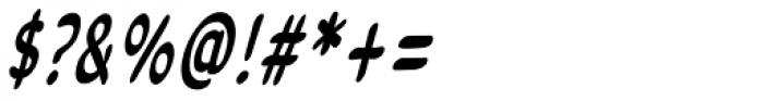Legendary Legerdemain Leggy Italic Font OTHER CHARS