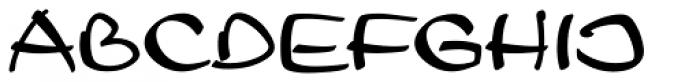 Leger D Font UPPERCASE