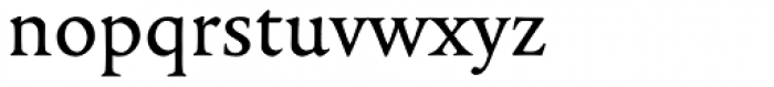 Legitima Font LOWERCASE
