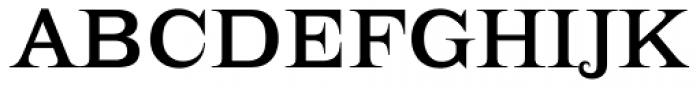 Lehmann Font UPPERCASE