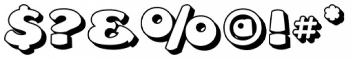 Leibix Shadowed Font OTHER CHARS