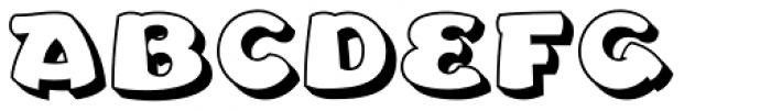 Leibix Shadowed Font UPPERCASE