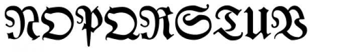 Leibniz Fraktur Pro Font UPPERCASE