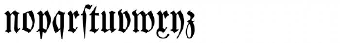 Leibniz Fraktur Font LOWERCASE