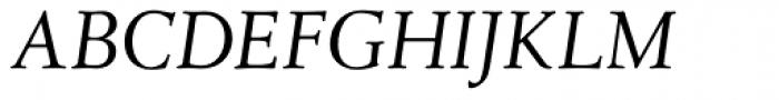 Leiden DT Italic Font UPPERCASE