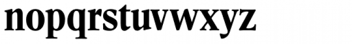 Leighton RR Bold Condensed Font LOWERCASE
