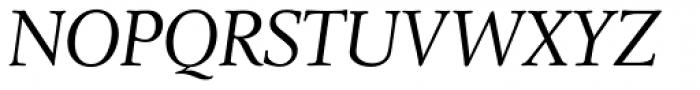 Leighton RR Light Italic Font UPPERCASE