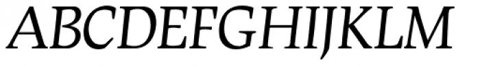 Leipziger Ant Italic Font UPPERCASE