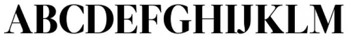 Leitura Display Roman Font UPPERCASE