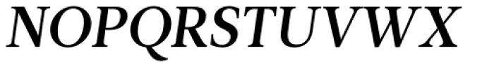 Leitura News Italic 3 Font UPPERCASE