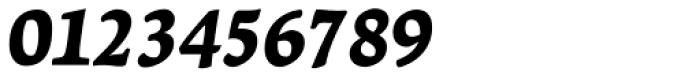 Leksa Black Italic Font OTHER CHARS