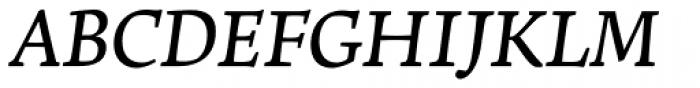 Leksa DemiBold Italic Font UPPERCASE