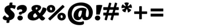 Leksa Sans Black Italic Font OTHER CHARS