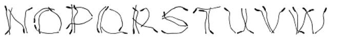 Lemon Flower Font UPPERCASE