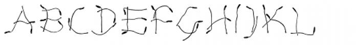 Lemon Flower Font LOWERCASE