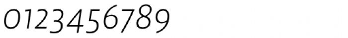 Lemon Sans Light Italic Font OTHER CHARS