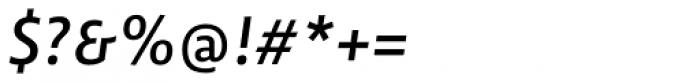 Lemon Sans Regular Italic Font OTHER CHARS