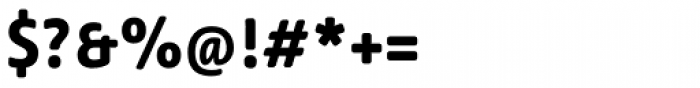 Lemon Sans Rounded Bold Font OTHER CHARS
