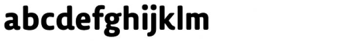 Lemon Sans Rounded Bold Font LOWERCASE